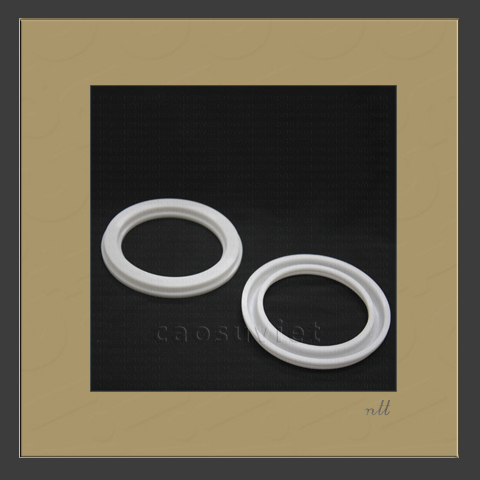 Heat resistant silicone rubber washer